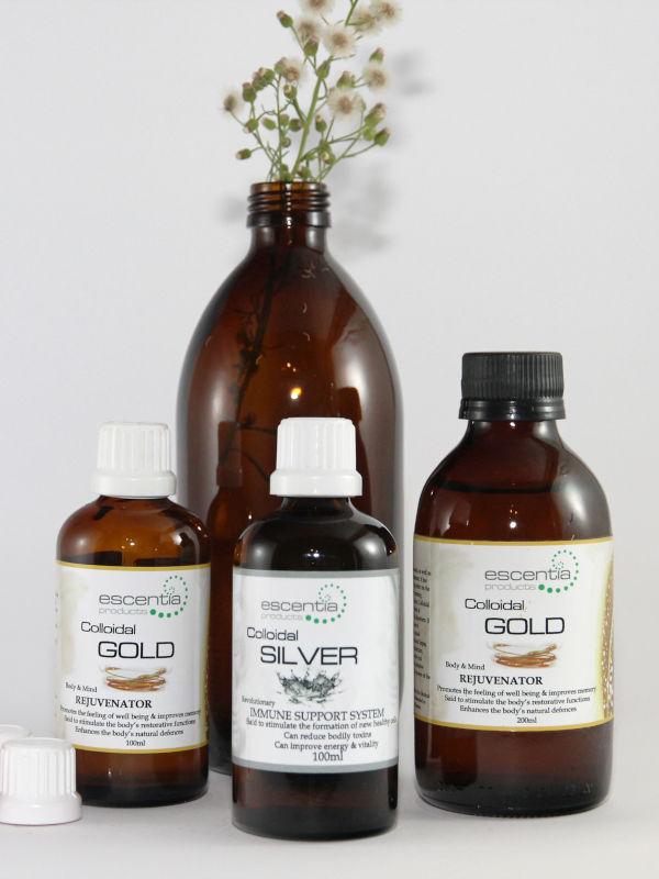 colloidal silver and colloidal gold