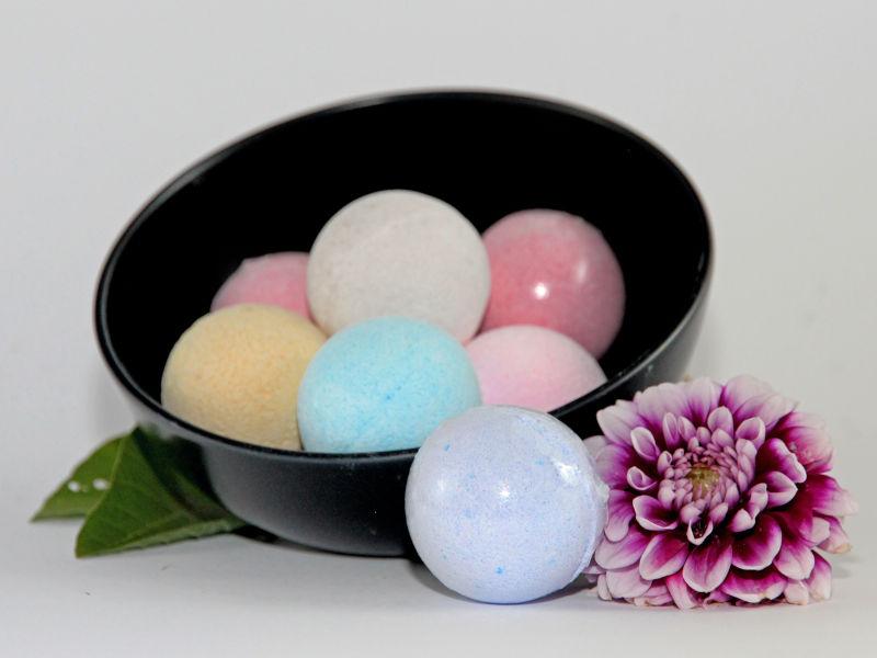 bath fizz balls